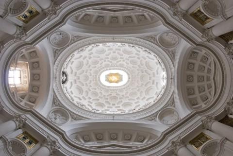 Francesco Borromini, San Carlo alle Quattro Fontane, cupola