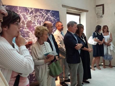 Opening della mostra alla Fondazione Menegaz di Castelbasso