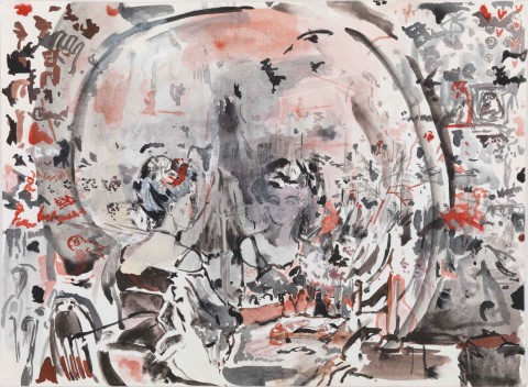 Cecily Brown, Untitled, 2006-2011 - © Cecily Brown, Courtesy Gagosian Gallery, Photography by Robert McKeever