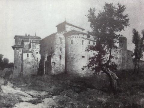Ettore Roesler Franz – Il monastero dei Ss. Quattro Coronati – 1884 (Museo di Roma)