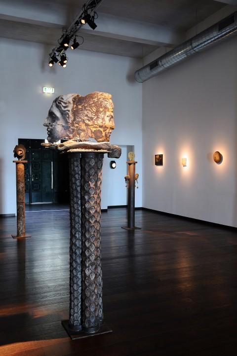 Filippo Sciascia, Matahari, installation view, Ex Marmi Pietrasanta, courtesy Galleria Poggiali e Forconi