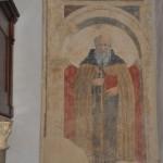Il Sant'Antonio Abate attribuito a Piero della Francesca (foto arezzonotizie)