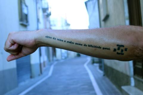 Il tatuaggio di Oitica di Juan Pablo Macias - GAP 2014