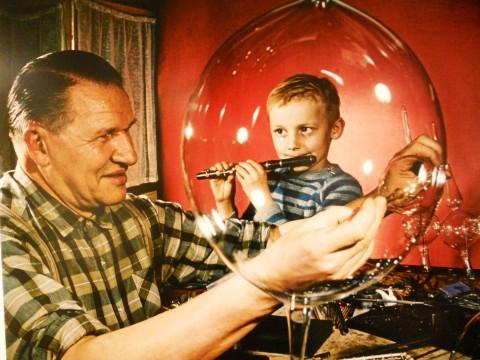Kurt Schwarzer, VEB Thuringia, Glasdekoration, 1964