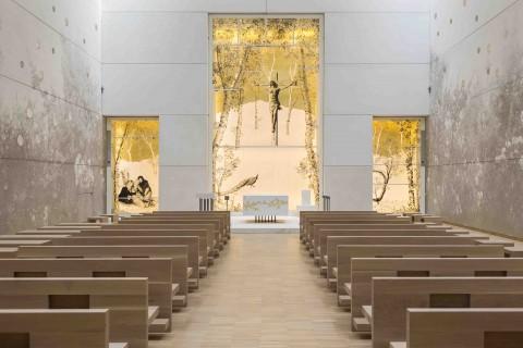 La chiesa del Nuovo Ospedale PG23 di Bergamo