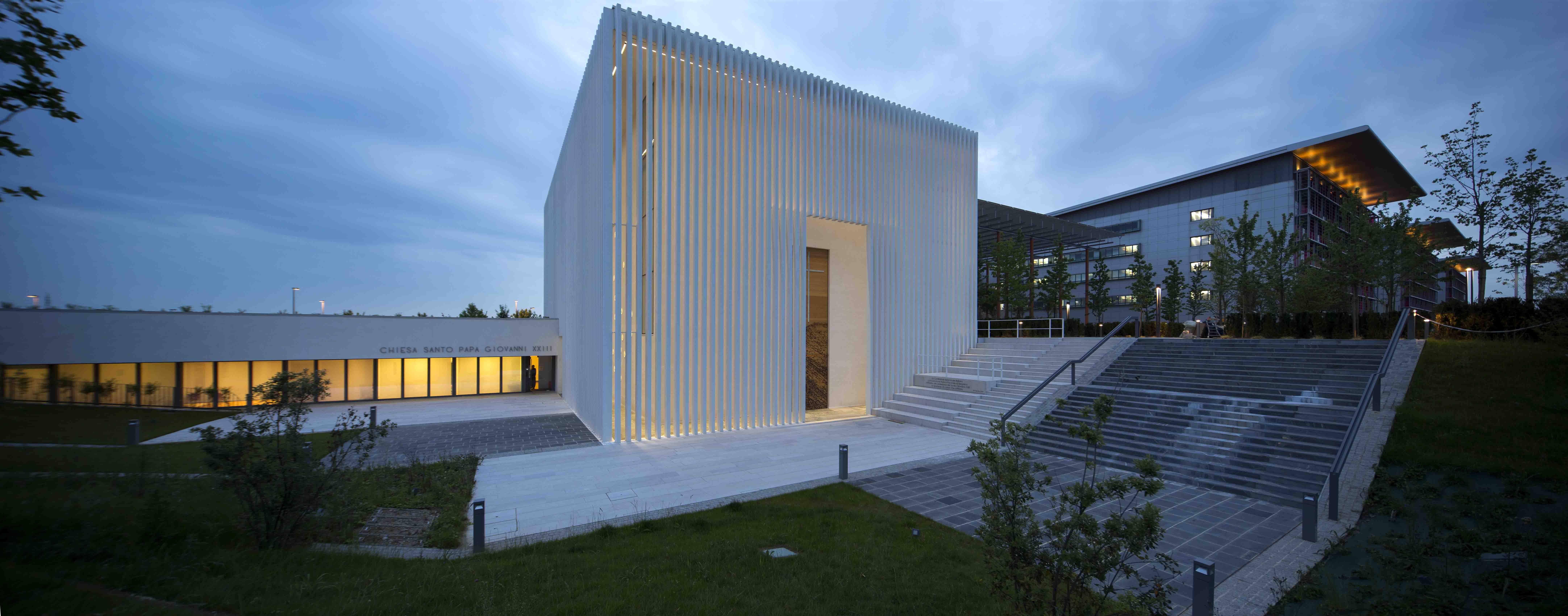 Architetti A Bergamo arte contemporanea e fede. inaugura a bergamo una chiesa all