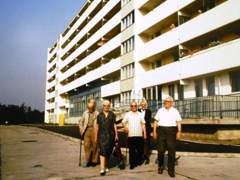 Martin Schmidt, Bewohner eines Altenheims in Berlin-Köpenick, 1980
