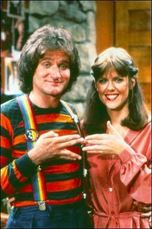 Robin Williams in Mork e  Mindy