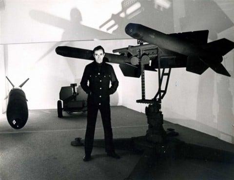 Mostra Pino Pascali, 21 dicembre 1970 - photo Mimmo Iodice