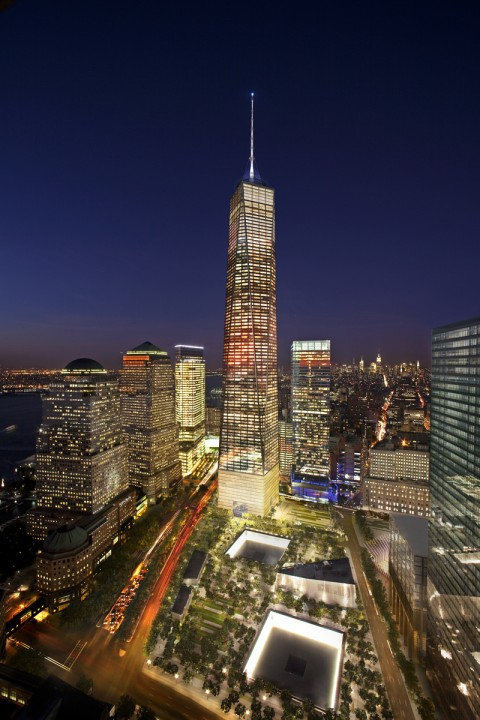 One World Trade Center, New York City - © The Durst Organization Port Authority of New York & New Jersey - Miller Hare