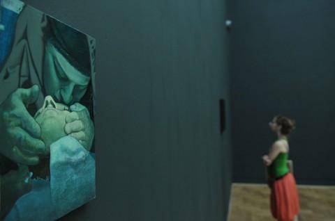 Victor Man - Zaphir - veduta della mostra presso la Zacheta National Gallery, Varsavia 2014