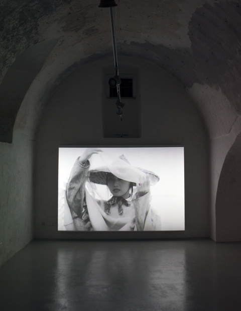 Capo d'Arte #5 - Yang Fudong - veduta della mostra a Gagliano del Capo, 2014