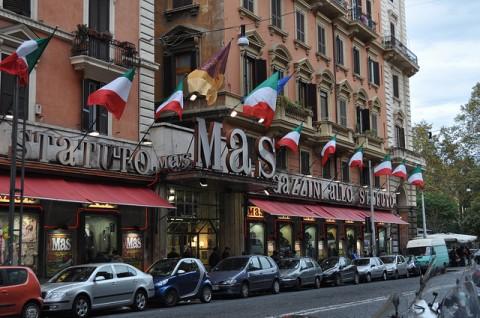Magazzini Mas, Roma