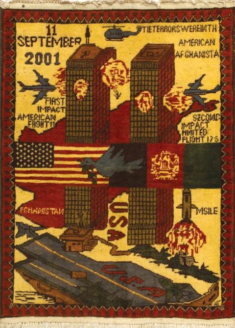 Tappeto afghano, Attentato Torri Gemelle, 2001-2002 - CooperAction Onlus