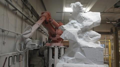 Davide Quayola – Captives (digital and physical sculptures) – AE 2014 – credit: Davide Quayola