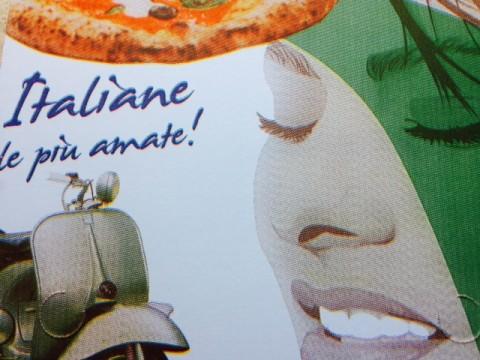 Italiane le più amate! Cartone della pizza