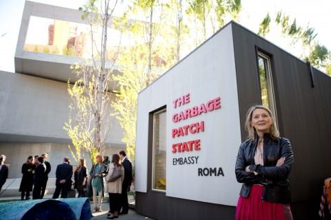 Maria Cristina Finucci al MAXXI di Roma
