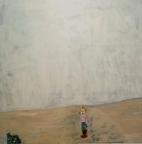 Chantal Joffe – Moll, 2001. Courtesy l'artista, Victoria Miro Gallery, Collezione Maramotti © Chantal Joffe