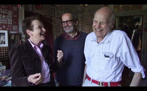 Yona Friedman, Jean-Baptiste Decavèle, Dora Stiefelmeier - photo Luigi Vitale