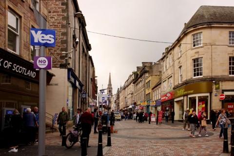 Campagna elettorale a Inverness - foto Michela Deponti