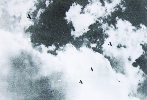 Damascus Sky, 1925 - copyright Khales Malas