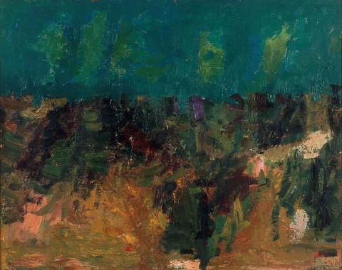 Ennio Morlotti, Paesaggio (1955)_MAGA Gallarate