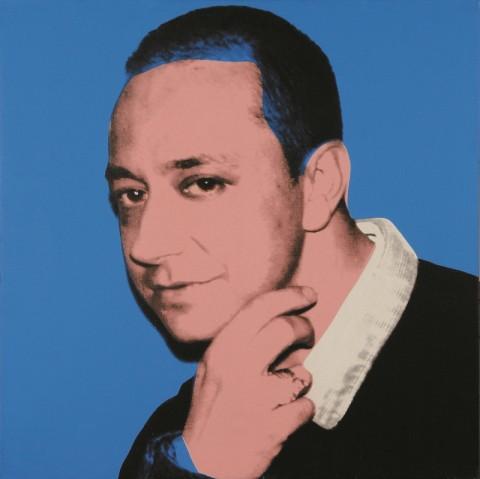 Ernesto Esposito ritratto da Andy Warhol nel 1987, courtesy Ernesto Esposito