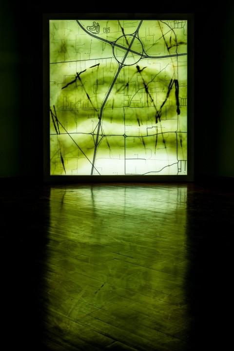 Eugenio Tibaldi, Geografia Economica 011, 2014 - courtesy Di Marino Arte Contemporanea Napoli - photo © Pierluigi Giorgi. Arte Contemporanea Picena, Arte in Centro, Licini, Amalassunta Collaudi