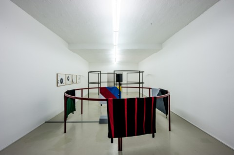 Falke Pisano in collaboration with Archive Books. Photo Ivo Corrà