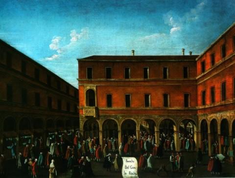 Gabriel Bella, Il bancogiro di Rialto, post 1799 - ante 1792