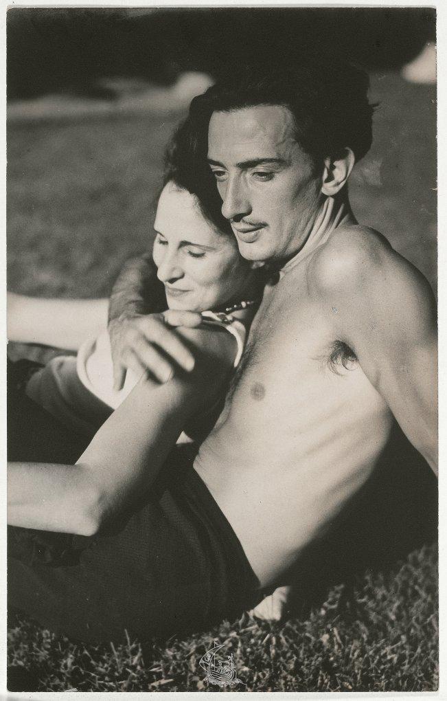 Gala and Salvador Dalí, c. 1933