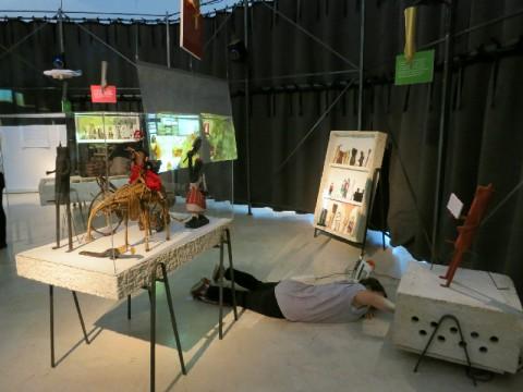 Lina Bo Bardi - Together - veduta della mostra presso la Triennale di Milano, 2014
