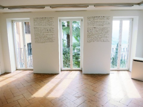 Into the white. Massimo Vitali & Eruch Lindenberg, Installation view, Villa Pia, Porza, fino al 5 ottobre 2014