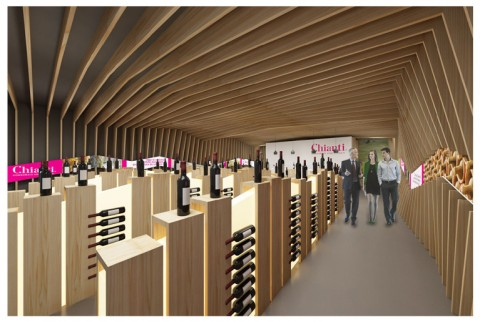 L'idea progettuale proposta di Andrea Dalmasso e Juliana Macarena Gonzalez Ricaurte, premiata per l'Interior design