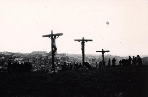 Il Vangelo secondo Matteo, La crocifissione, Matera