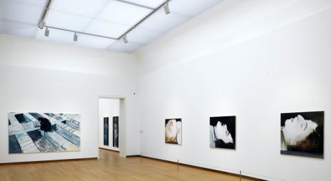 Marlene Dumas The Image as Burden installation view. Photo Gert-Jan van Rooij