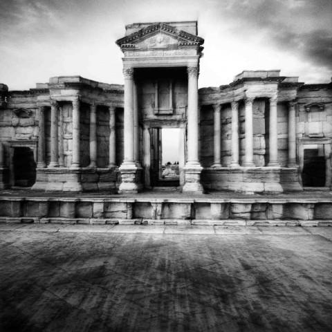 Mimmo Jodice - Siria, Teatro Romano