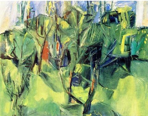 Pompilio Mandelli, Alberi d'estate (1953)