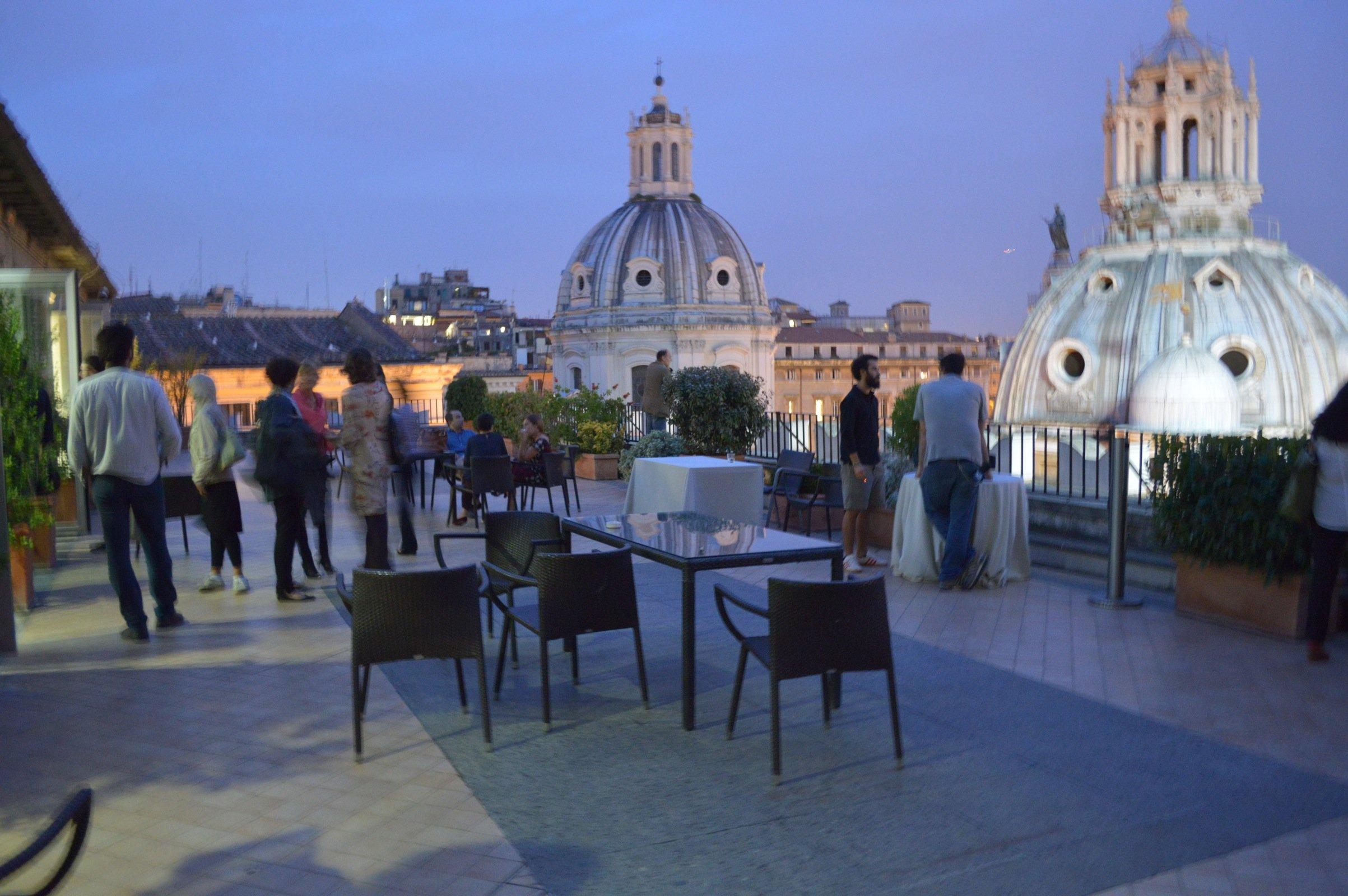 Presentazione del volume terrazza roma 11 artribune for Terrazza panoramica venezia