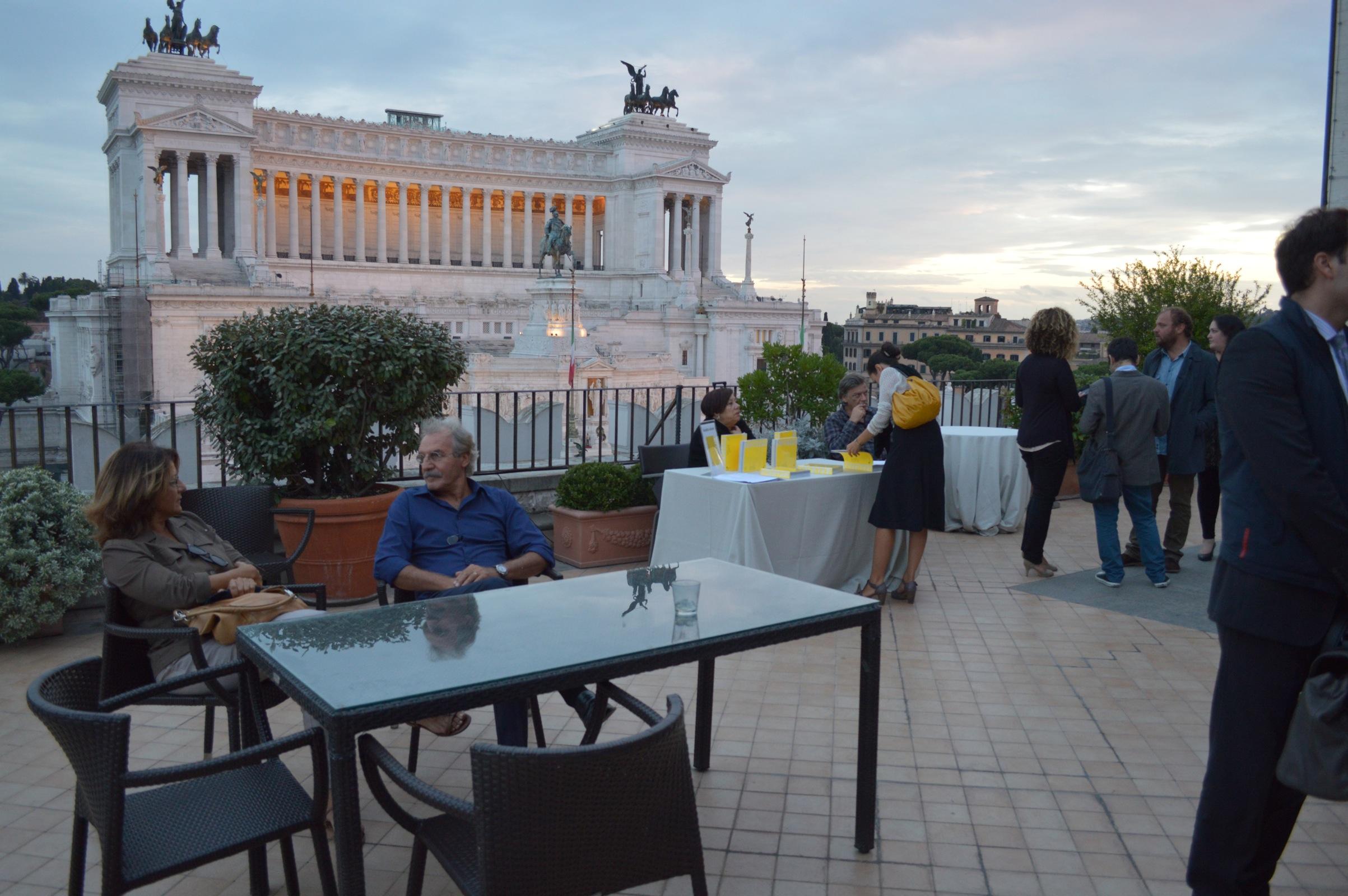 Presentazione del volume Terrazza, Roma 12 | Artribune