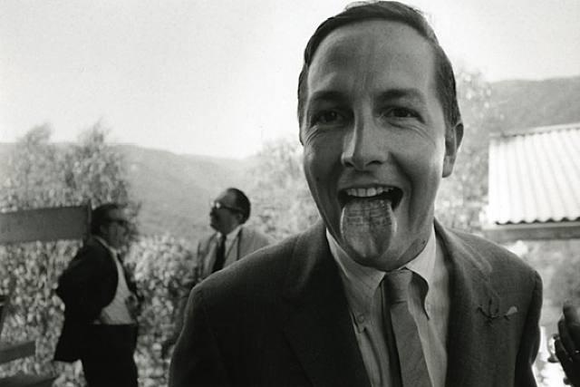 Robert Rauschenberg, 1966 - foto Dennis Hopper
