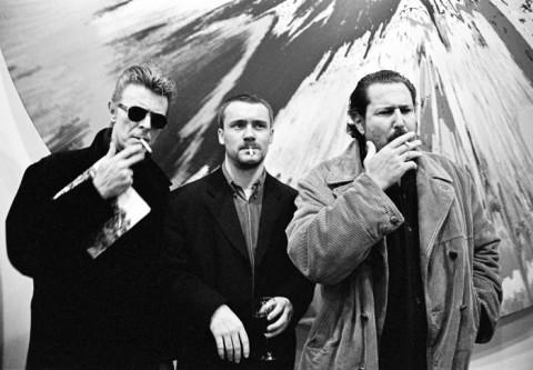 Roxanne Lowit - David Bowie Damien Hirst e Julian Schnabel NY 1996