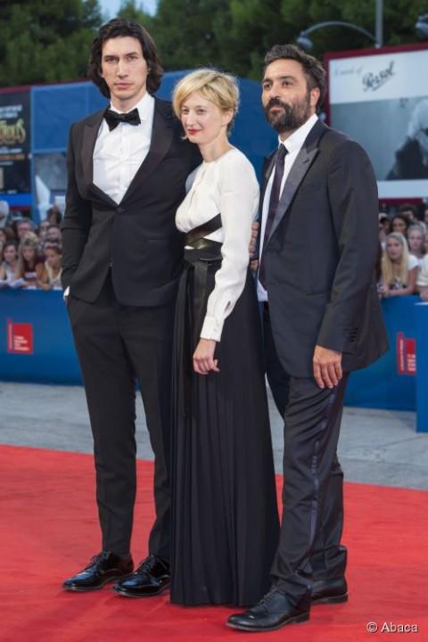 Saverio Costanzo, Alba Rohrwacher, Adam Driver sul red carpet di Hungry Hearts