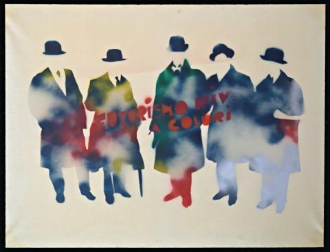 Mario Schifano – Futurismo rivisitato a colori, 1967-1970. Courtesy Collezione Maramotti