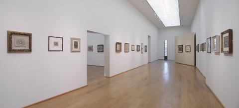 Collezione Museo Morandi al MAMbo - veduta dell'allestimento, foto di Matteo Monti
