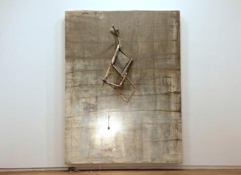 "Lawrence Carroll, ""Victory"" 2009-2010. Collection: Dublin City Gallery, The Hugh Lane. Dublin , Ireland"