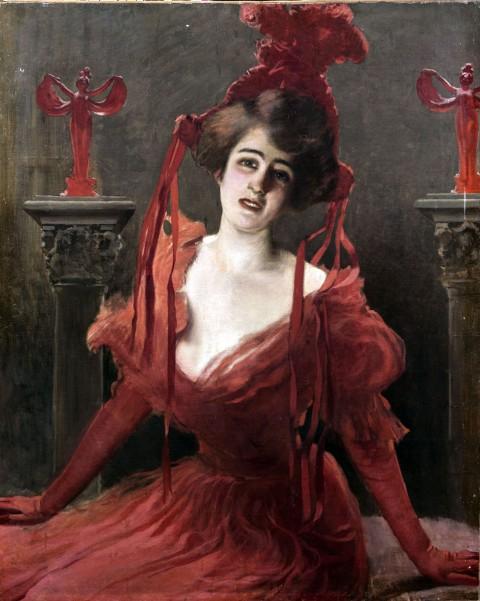 Vittorio Corcos, Isadora Duncan, 1905-1910, Collezione privata