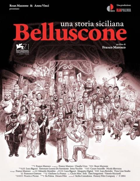 Belluscone - manifesto in edizione limitata