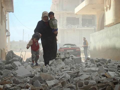 Scene dal conflitto siriano