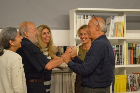 Partorire con l'Are, Maxxi B.A.S.E., 2014 - da sinistra: Maria Grazia Castellano, Francesco Antinucci, Irene Martini, Miriam Mirolla, Massimo Ammaniti